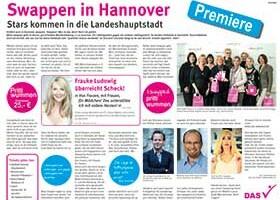 swappen in Hannover HAZ halbe Seite 20.03.2014