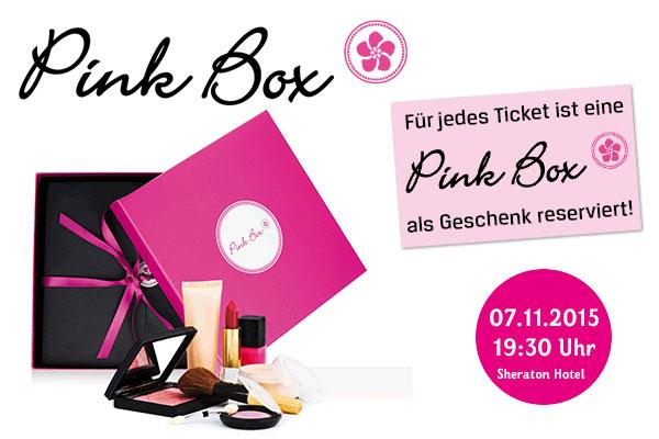 Eine Pink Box als Geschenk